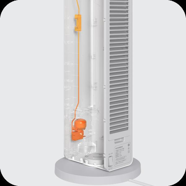 Bezpieczny termowentylator Smartmi